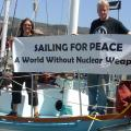 Nuclear abolition boat