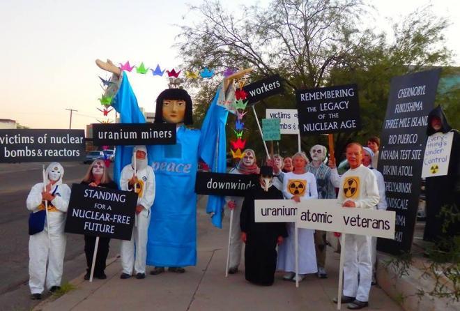 Walking the talk in Tucson