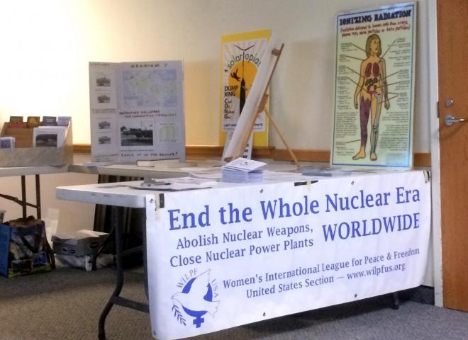 Nuclear Free Future Tour exhibit