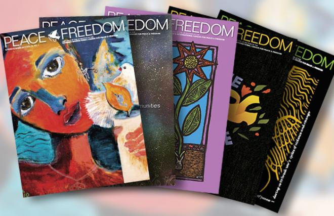 Peace & Freedom covers