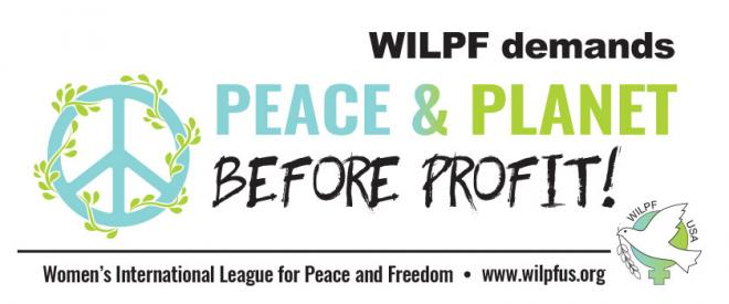 Peace & Planet Before Profits