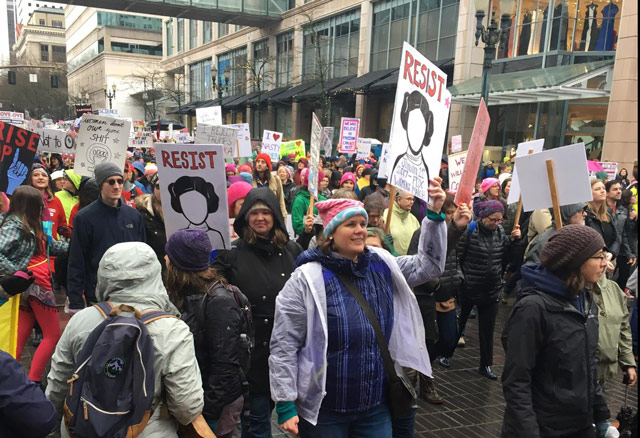 Women's March - Portalnd, OR